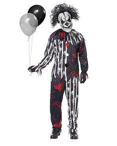 Adult Freakshow Clown Costume - Spirithalloween.com