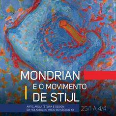 Mostra traz a São Paulo obras de Piet Mondrian e de outros artistas do Movimento De Stjil. Programe-se para não perdê-la. #MondrianNoCCBBSP #Mondrian #DeStjil #arte #cultura #lifestyle #exposição #SãoPaulo #Brasil #Brazil