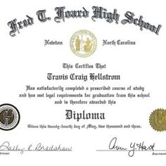 high school certificate of achievement template School Certificate, Certificate Of Achievement Template, Certificate Templates, Free High School Diploma, High Diploma, Professional License, Dips, Colorful, Sauces