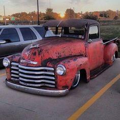 Chevy - Sweet rat rod!