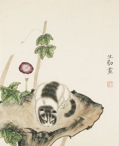 Cats - CNAG000811 Chinese Painting, Hand Painted, Paintings, The Originals, Cats, Artist, Artwork, Tattoo, Style