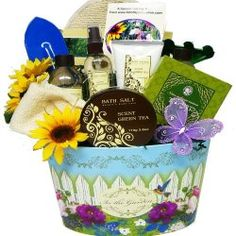 Garden Delights Green Tea Spa Bath and Body Set