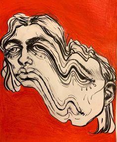 Art Sketches, Art Drawings, Arte Indie, Arte Sketchbook, Wow Art, Hippie Art, Arte Pop, Psychedelic Art, Surreal Art