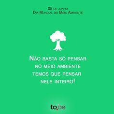 Dia do meio ambiente!