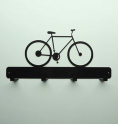Bicycle Coat Rack by KnobCreekMetalArts on Etsy