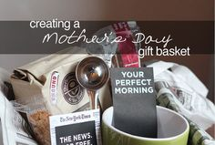tips to creating a Mother's Day gift basket