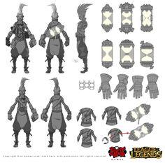 ArtStation - Ekko, League of Legends, Alexandr (LittleDruid) Pechenkin