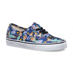 Vans Disney Authentic Shoes (Disney) Jasmine/Deep Ultramarine