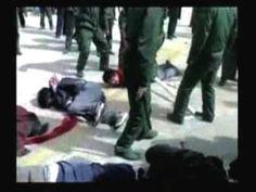 チベットにおける中国軍の蛮行