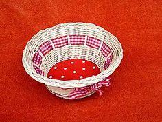 košík PUNTÍK basket of dot´s