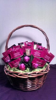 Pomegranate Tea and Chocolate Bouquet/ Gift
