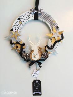 Corona de Navidad con Tutorial