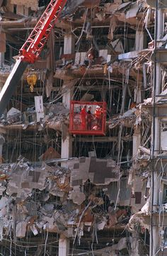 Oklahoma City Bombing On 4-19-1995 I was 34 when this happen. So sad.