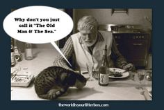 Hemmingway and Cat