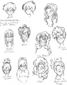 cabelleras db femeninas 2 by rasec-dragon-91.deviantart.com on @DeviantArt