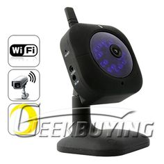 Wired / Wireless IP Security Camera with Nightvision