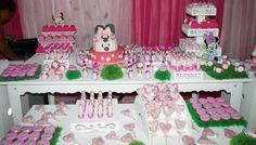 "Convites Digitais Simples: Kit de Personalizados ""Minnie Mouse Baby"" para Imp..."