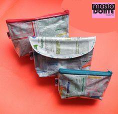 mastodonte diseño: Reciclados!!! Monederos, cartucheras y portacosméticos