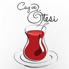 Rabbit Wallpaper, Flower Wallpaper, Wallpaper Backgrounds, Islamic Calligraphy, Calligraphy Art, Turkish Tea, Turkish Kitchen, Graphic Art Prints, Typographic Logo