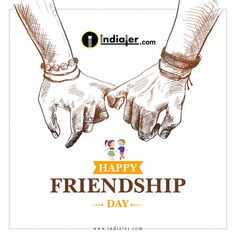 Friendship Day Date, Friendship Day Images, Leaflet Design, Free Flyer Templates, Friends Day, Good Night Image, Creative Design, Gujarati Quotes, Indian Festivals