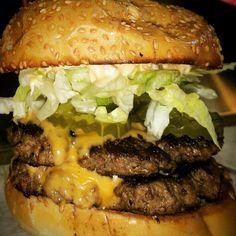 Photo of Burger Factory - Vaughan, ON, Canada. Beef Patty, Burgers, Hamburger, Canada, Fresh, Ethnic Recipes, Food, Hamburgers, Essen