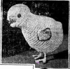 Ravelry: Cuddly Toys to Make for Christmas, Little Chicken pattern by The Western Mail