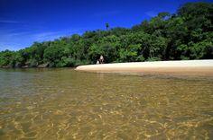 Praias de água doce são alternativas no litoral brasileiro