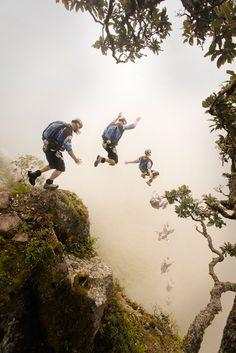 Base jumping!!