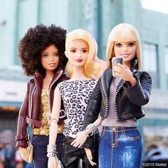 Music is a major inspiration, and my concert crew is always tuned in! Which music/style icon inspires you?  #besuper #barbie #barbiestyle