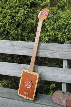 Build an instrument!  Maybe a Guitar out of a box