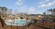 Traton Homes #Acworth community #McClureFarms has new #spring time #homes and #summer time fun!