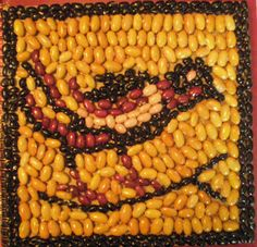 "Link to ""ancient mosaics"" lesson using dried beans, plus other mosaic lessons"
