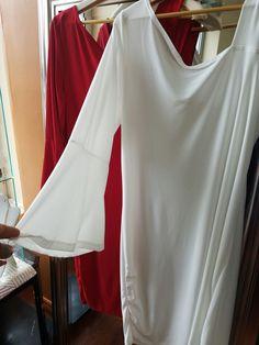 One Shoulder Strap /One Arm  Sleeve Dress