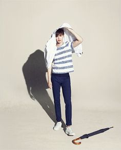Additional MVIO S/S 2015 Ads Feat. Lee Jong Seok   Couch Kimchi