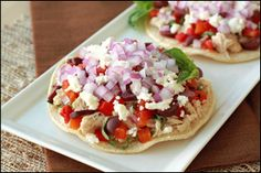 Low-Calorie Tostada Recipes, Healthy Tostada Recipes | Hungry Girl - at leat the Mediterranean tostada looked clean