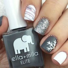 Best Winter Nails for 2017 - 67 Trending Winter Nail Designs - Best Nail Art