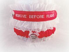 Pilot Garter Set - Remove Before Flight – Creative Garters