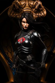 Baroness / Sixth Scale Figure / Sideshow Collectibles / Edition size: / JCG Gi Joe Characters, Female Characters, Comics Girls, Dc Comics, Baroness Gi Joe, Snake Eyes Gi Joe, Gi Joe Storm Shadow, Mundo Nerd, Joe Cool