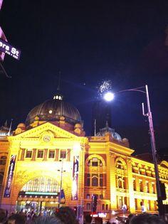 melbourne australia...Flinders station