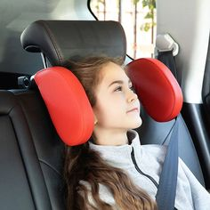 Interior Accessories, Car Accessories, Car Seat Pillow, Car Seat Headrest, U Shaped Pillow, Neck And Shoulder Pain, Leather Pillow, Head And Neck, Skulls