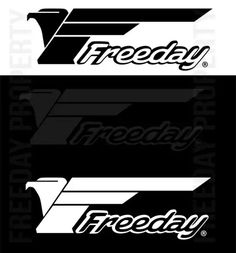 Freeday Logo on various colors #freeday