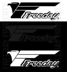 Freeday Logo on various colors #freeday
