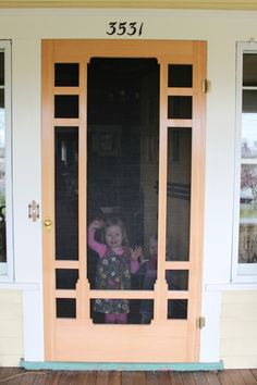 Building An Arts And Crafts Style Screen Door | Screens, Doors And  Woodworking