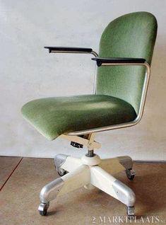 Originele Gispen bureau fauteuil 356 PQR Chair Design, Classic, Furniture, Home Decor, Lounge Chairs, Derby, Decoration Home, Room Decor, Home Furnishings