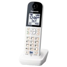 Panasonic Digital Cordless Handset for Home Monitoring System - White (KX-HNH100W)