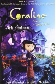 "Coraline"" The Horror Novel Written By Neil Gaiman @ Rs.125"