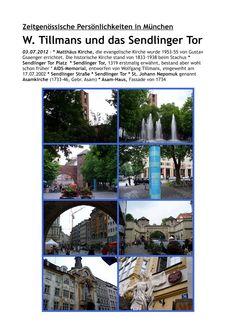 münchner spaziergänge: W. Tillmans und das Sendlinger Tor