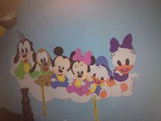 Micky y sus amigos bebés ideal para decorar la habitación de tu bebe