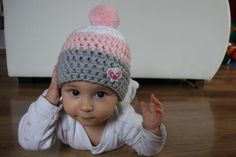 Háčkovaná čepice - kulíšek mimi Crochet Cap, Knitting For Beginners, Winter Collection, Crochet Patterns, Beanie, Purses, Fashion, Beanies, Sombreros