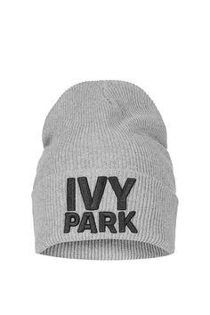 Ribbed Logo Beanie by Ivy Park